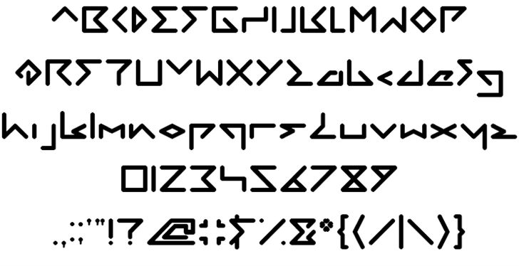 Image for DIRECTION font