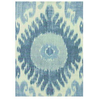 Hisari Ikat in Blue from Lee Jofa