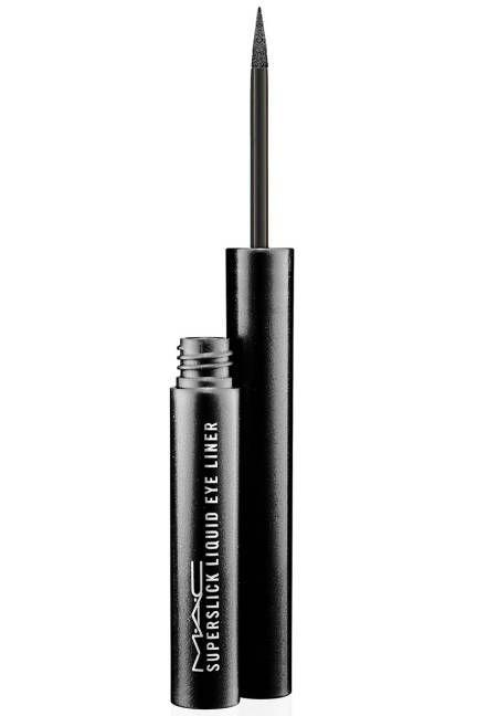 waterproof/sweatproof Eyeliner...M.A.C Superslick Liquid Eye Liner, $19.50;