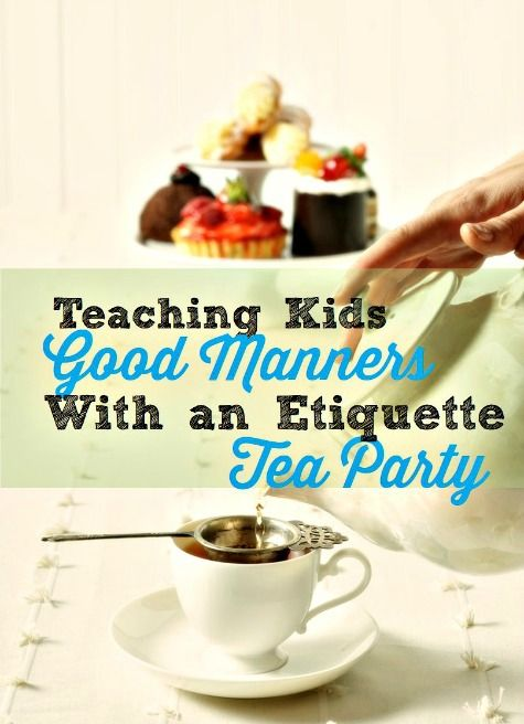 Did you know George Washington authored a book on manners and etiquette? There's a great way to use it to teach your kids manners (and throw a party at the same time!)