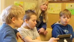 Taped | Tablet-oppimisympäristö ja -pedagogiikka