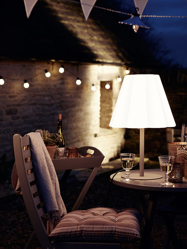 Elsa Outdoor Table Lamp - Outdoor Lighting - Outdoor Living