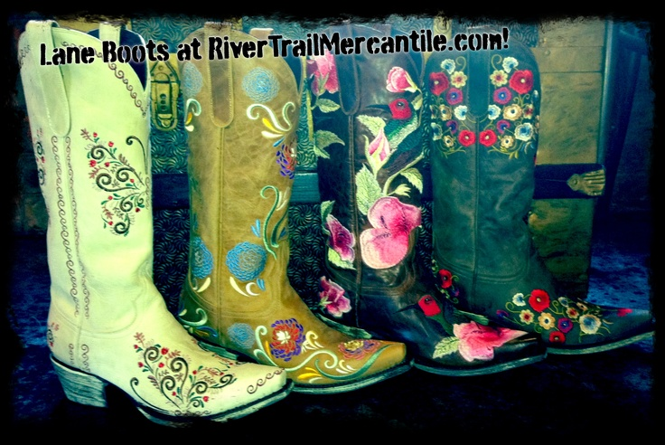 Lane Cowgirl Boots at RiverTrailMercantile.com! New Styles for 2012!: Cowgirl Boots, Boots Cowboys Boots, Trail Boots Cowboys, Lane Cowgirl, Boots Fit, Rivertrail Boots, Princesses Boots, Boots Scootin, Boots Obsession