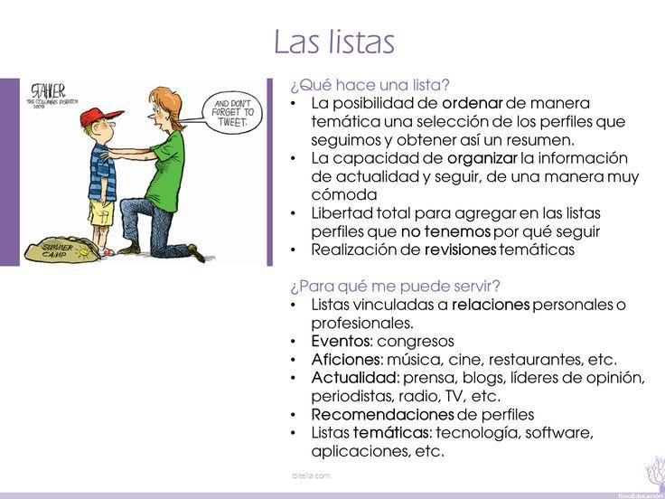 08  Más información: http://bitelia.com/2012/08/listas-twitter-segmentar-contenidos