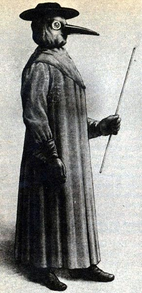 The Black Death Plague Doctor, and other professions that no longer exist. See: https://www.pinterest.com/pin/287386019947557614