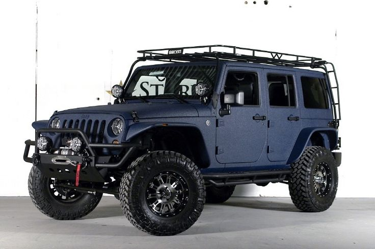 2013 Jeep Wrangler Unlimited (24S Pkg) Ferrari Blue Kevlar THE ULTIMATE!!!!!