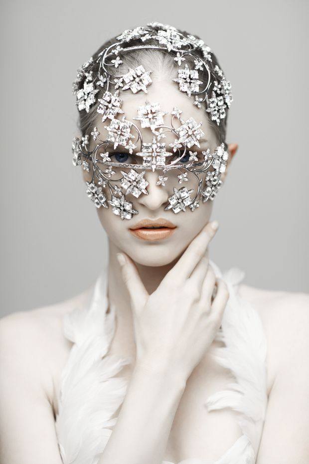 Bejeweled Headpiece from Louis Mariette