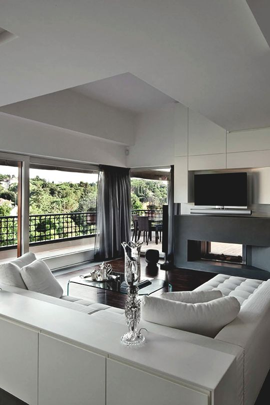 "modernambition: ""  Vertical Home Interior in Rome | MDRN  """