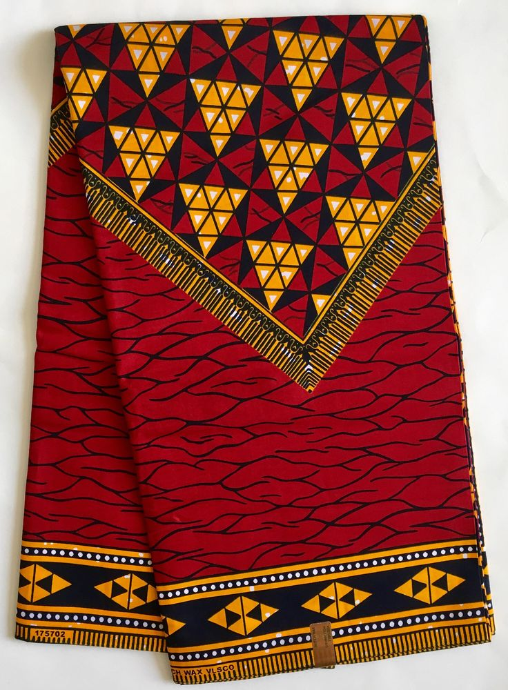 A personal favorite from my Etsy shop https://www.etsy.com/listing/480046392/african-print-fabric-ankara-red-marigold