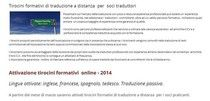 scopri i tirocini online gratuiti di traduzione offerti dall'Associazione ai propri soci