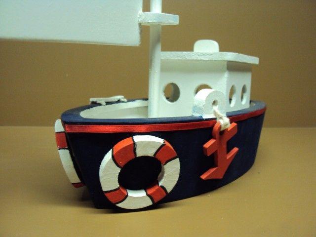 barco mdf enfeite centro de mesa cm com pintura decorao festa aniversario enfeite quarto bebe