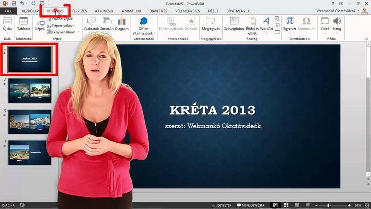 PowerPoint - Fényképalbum (oktatóvideó)