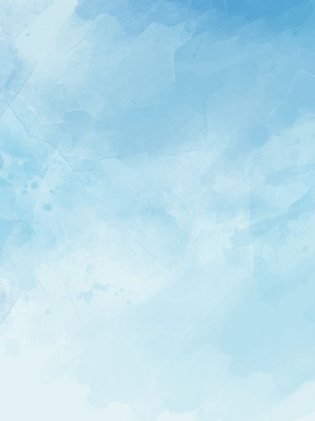 Ink Blue Sky White Clouds Hand Drawn Background Format In 2020