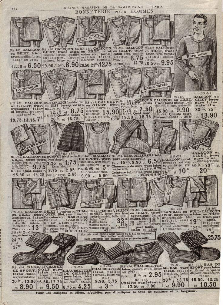 Pages de catalogues Printemps/Samaritaine. Mode années 20 - Le blog de Vieux papiers