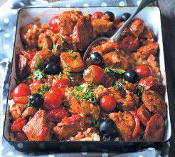 Spanish Rice #Chicken #Recipe #SouthAfrica