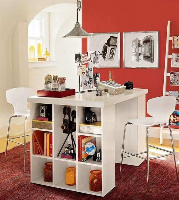 17 Best Ideas About Small Home Offices On Pinterest