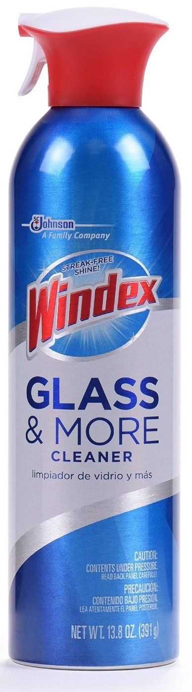 Windex 70479 Foaming Glass and Surface Cleaner, 13.8 Oz