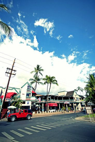 Lahaina Harbor, Maui Island, Hawaii by wond3r, via Flickr