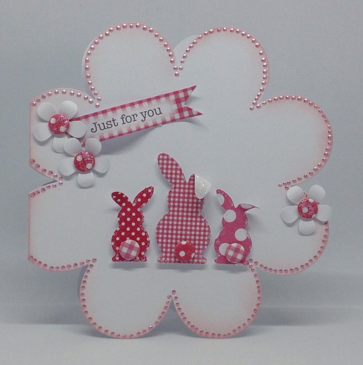 Huggable and blooms cards, created by Julie Hickey