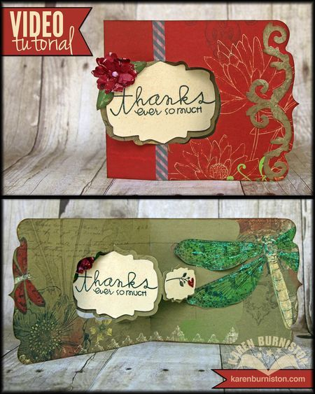 Learn how to make this card with Sizzix Pop 'n Cuts dies by watching the Video Tutorial. Dies used: 658378, 658372, 658364, 657788