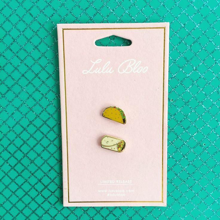Fiesta Set featuring the Taco and Burrito Emoji by Lulu Bloo