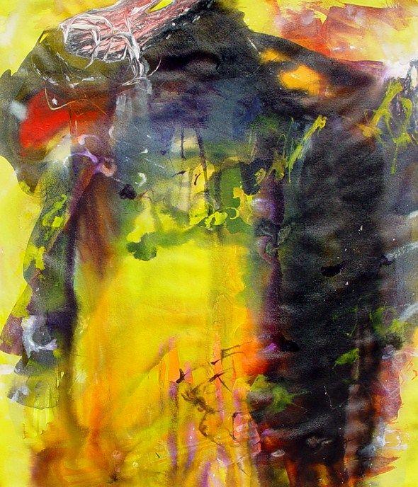 """NEBULAE "" by Bianka Guna Art 2006 Series Acrylic on Canvas 60""x 48"" Original Modern Abstract Painting Contemporary Fine Art Canvas Hand Painted"