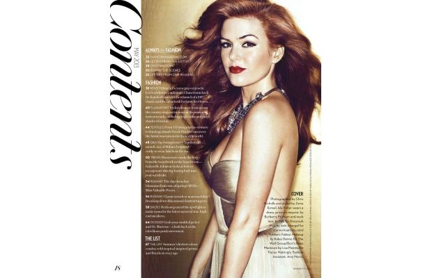 """Isla Fisher Covers """"Fashion"""" For """"The Great Gatsby"""""""