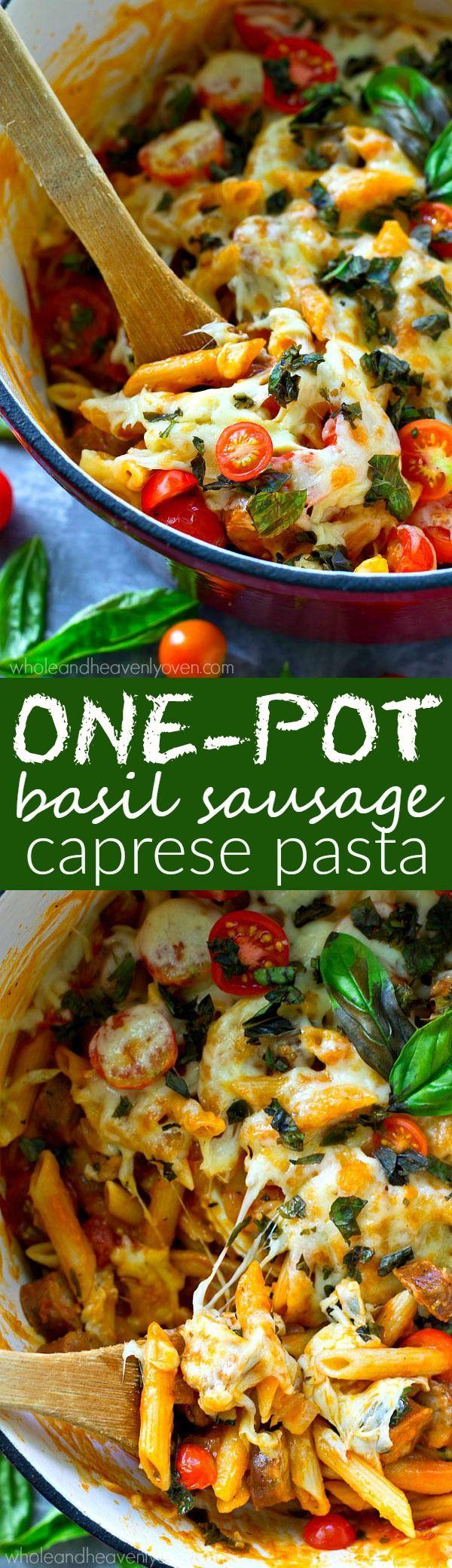 Best 25+ Chicken sausage pasta ideas on Pinterest | Kielbasa pasta ...