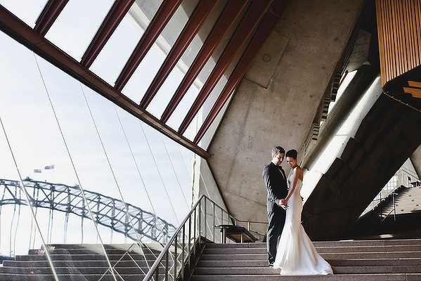 A wedding at the Sydney Opera House....beautiful!