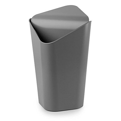Umbra Corner Mini Can, Charcoal