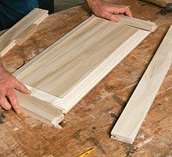 Making raised-panel doors on a tablesaw - Fine Homebuilding Article