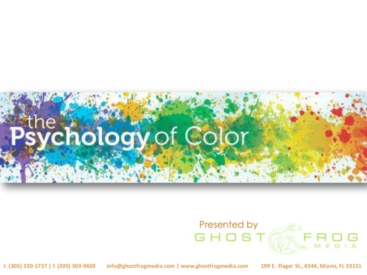 Does color have a HUGE impact on why you make purchases? Why yes, yes it does.