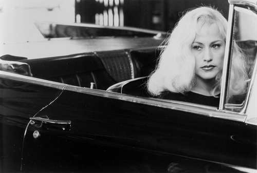 'Lost Highway' (1997) Directed by David Lynch.  Renee Madison / Alice Wakefield (Patricia Arquette)