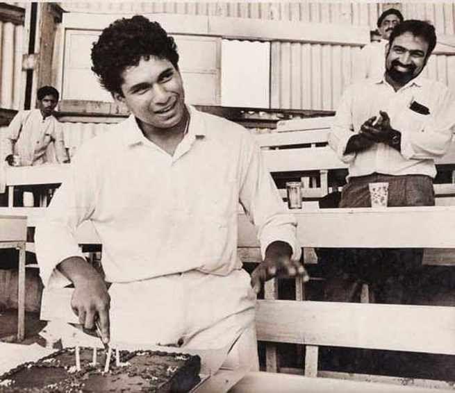 Sachin Tendulkar old photo