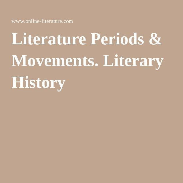 literary periods Visit our companion site, american passages produced in conjunction with oregon public broadcasting, this rich site includes an archive featuring over 3,000 images, audio clips, presentation software, and more.