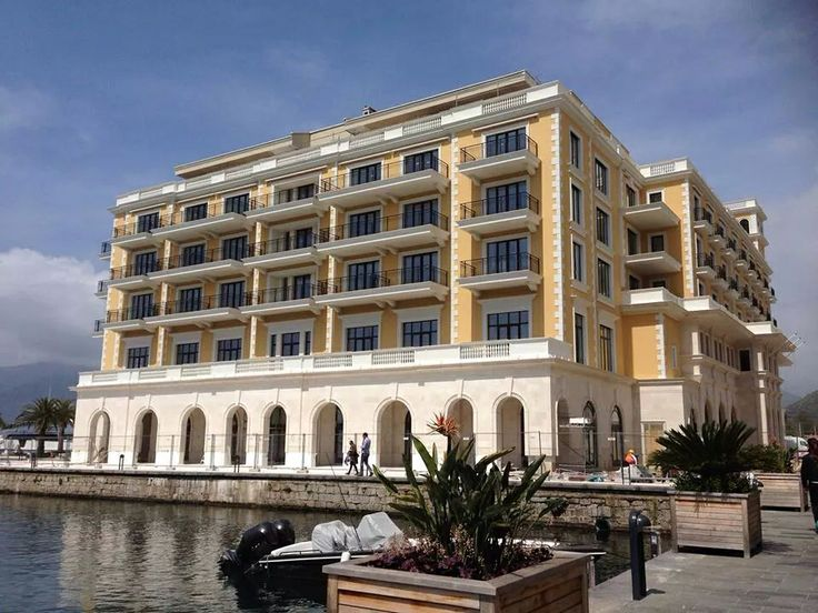 Beautiful view of the Regent Porto Montenegro Hotel & Residences opening in Porto Montenegro this summer. The spectacular waterfront property, inspired by Italianate palazzi around the Porto Bay, comprises 34 hotel rooms and 54 residences. #Travel #DiscoverMontenegro #PortoMontenegro #Montenegro #Mountains #Beach #Sea #Beautiful #Tivat #CrnaGora #Hotels #RegentPortoMontenegroHotel #Luxury