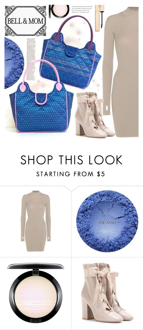 """BELL&MOM"" by gaby-mil ❤ liked on Polyvore featuring adidas Originals, MAC Cosmetics, Valentino, handbag, handmade and bellandmom"