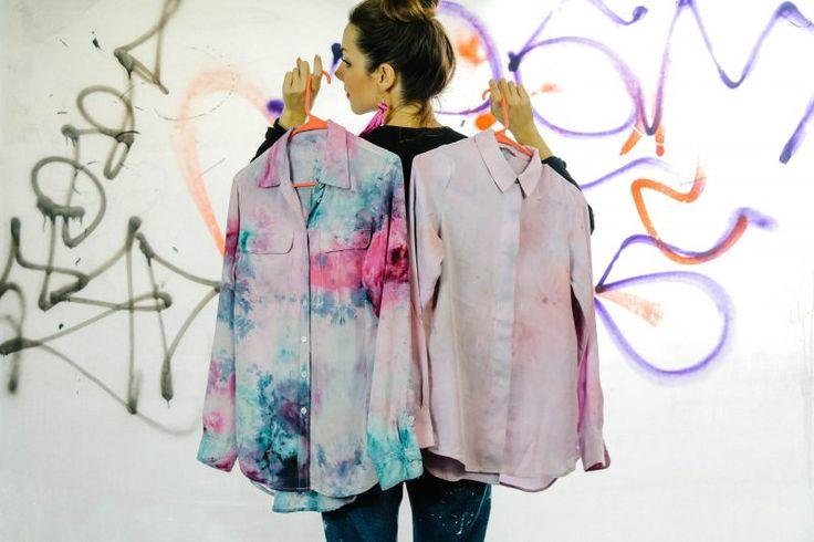 Ice Dyed Shirts