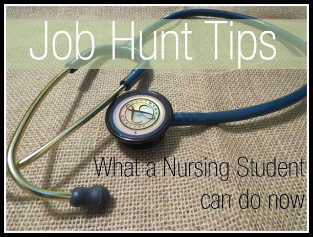 Nursing Job Hunt Tips: What a Nursing Student Can Do - A Dose of Paige