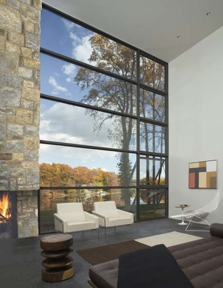 Window designs for modern houses magnificent glasswork in for Windows for residential homes