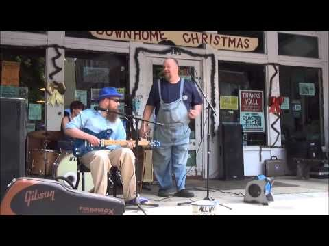 All Night Long Blues Band - Shake 'Em On Down - Clarksdale Caravan Music Festival 2013 - YouTube