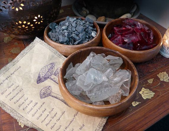 Skyrim inspirierte Zutaten Schalen von Void Salze von KateMurrays