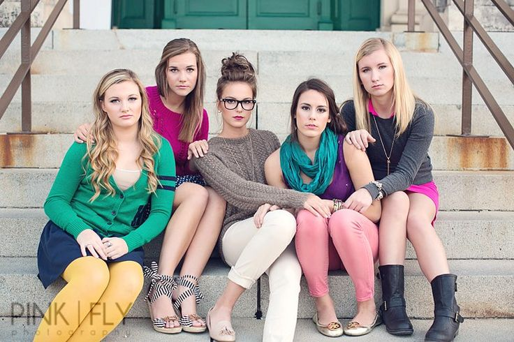 Group shoot- love the styling