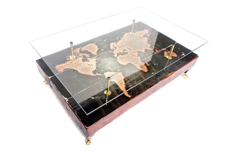 The Ultimate World Map Coffee Table.