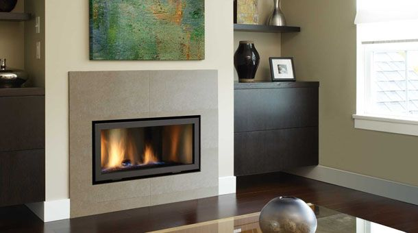 17 Best Images About Concrete Fireplaces On Pinterest Window Seats Paint Colors And Small Gas