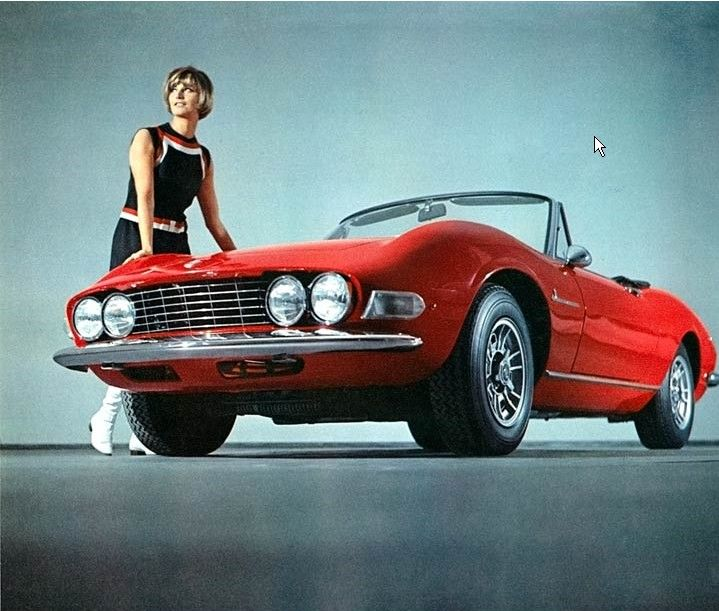 37 Best Cool Italian Cars. My Dream Car: Fiat Dino Spider