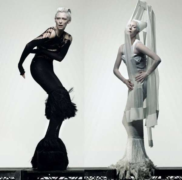 Madonna fashion editorial see through dress - Google Search