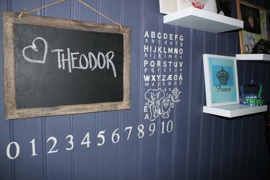 school room for Theodor