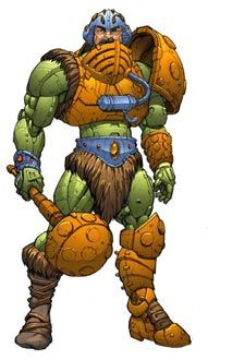 Man-At-Arms from the Masters of the Universe...Could never figure out if it was Man at Arms or Man of Arms...!
