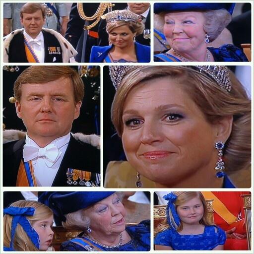 Inhuldiging koning Willem-Alexander 30 april 2013
